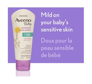 Image 3 of product Aveeno - Aveeno Baby SPF 50 Sunscreen, Sensitive Skin, 88 ml