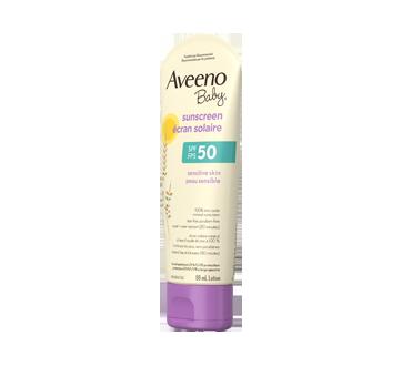 Image 7 of product Aveeno - Aveeno Baby SPF 50 Sunscreen, Sensitive Skin, 88 ml