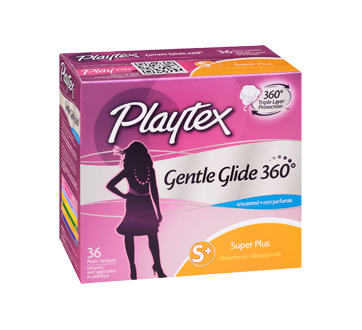 Image 2 of product Playtex - Gentle Glide 360, 36 units, Unscented Super Plus