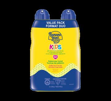 Kids Tear Free Sunscreen Spray, 2 x 226 g