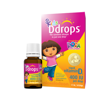 Image 1 of product Ddrops - Ddrops Kids 400 IU, 1.7 ml