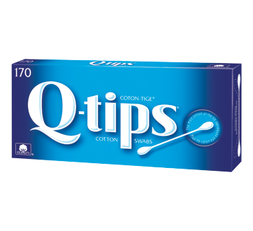 Image of product Q-Tips - Cotton swabs, 170 units