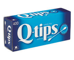 Image of product Q-Tips - Cotton Swabs, 400 units