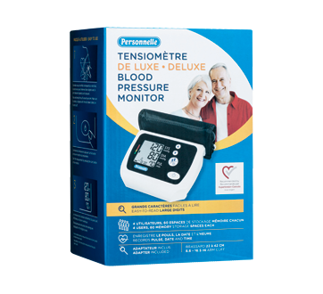 Image of product Personnelle - Deluxe Blood Pressure Monitor, 1 unit