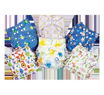 All-In-One Cloth Diaper, Boy, 1 unit