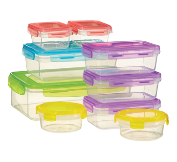 Image 2 of product Home Exclusives - Reusable Containers Set , 18 units