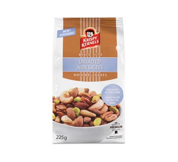Unsalted Mixed Nuts, 225 g
