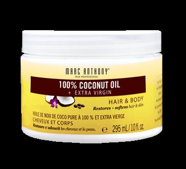 100% Coconut Oil + Extra Virgin Hair & Body Care, 295 ml