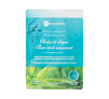 Image of product Personnelle Beauty - Moisturizing Sheet Mask, 25 ml