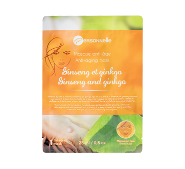 Image of product Personnelle Beauty - Anti-Aging Sheet Mask, 25 ml