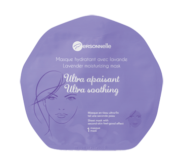 Image of product Personnelle Beauty - Ultra Soothing Lavender Moisturizing Mask, 1 unit