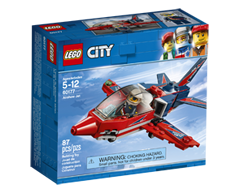 Image of product Lego - Lego City Airshow Jet, 1 unit