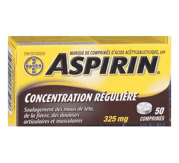 Image of product Aspirin - Aspirin Tablets Original Strength 325 mg, 50 units