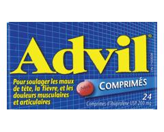 Image of product Advil - Advil Tablets, 24 tablets