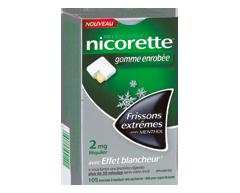 Image of product Nicorette - Nicorette Gum, 105 units, 2 mg, Extreme Chill