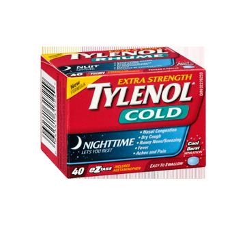 Image 2 of product Tylenol - Tylenol Cold Extra Strength Nighttime Formula, 40 units