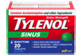 Thumbnail 1 of product Tylenol - Tylenol Sinus Extra Strength Nighttime Formula, 20 units