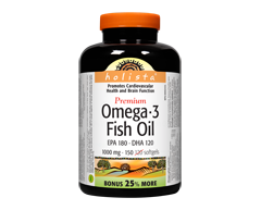 Image of product Webber - Holista Omega-3 Fish Oil, 120 units