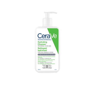 Image of product CeraVe - Hydrating Cleanser for Normal to Dry Skin, 355 ml