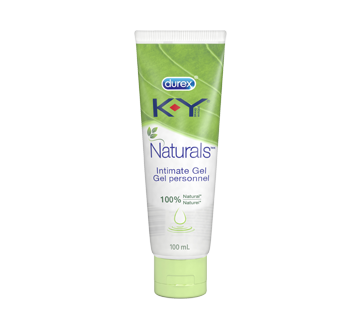 Image of product K-Y - K-Y Personal Lubricant, Naturals, gel, 100 ml