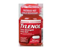 Image of product Tylenol - Tylenol Extra Strength 500 mg, 150 units