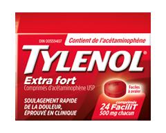 Image of product Tylenol - Tylenol Extra Strength 500 mg, 24 units