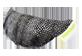 Thumbnail of product manimo - Half Moon Ball, 1 unit, Silver