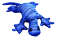 Thumbnail of product manimo - Weighted Lizard, 2 kg, Blue