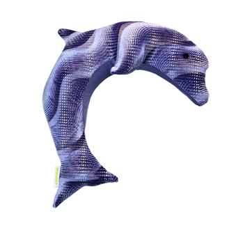 Weighted Dolphin, 2 kg, Purple