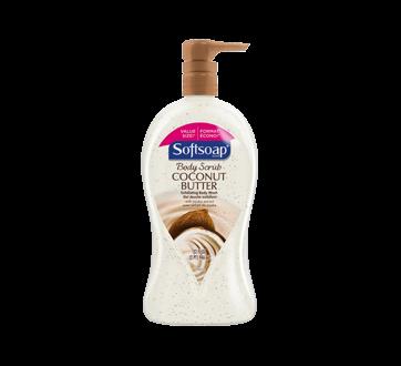 Body Scrub  Exfoliating Body Wash, 32 oz, Coconut Butter