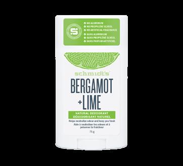 Bergamot + Lime Natural Deodorant, 75 g