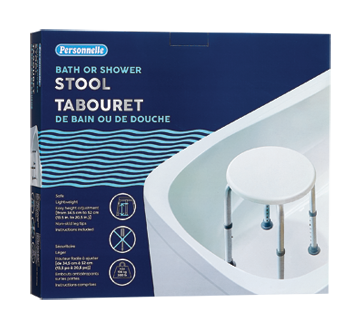 Image of product Personnelle - Bath or Shower Stool, 1 unit
