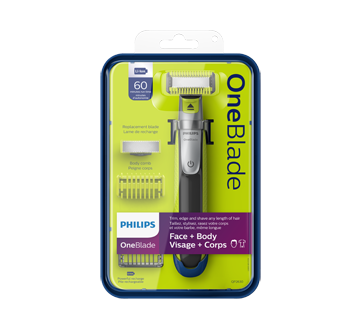 OneBlade Trimmer Face and Body, 1 unit