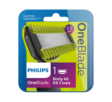 OneBlade Face and Body Replacement Blade, 1 unit
