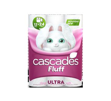 Fluff Ultra Bathroom Tissue, 12 units