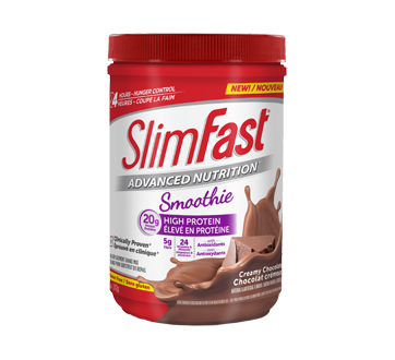 Image of product SlimFast - Advanced Nutrition Meal Replacement Shake Mix, 312 g, Creamy Chocolate