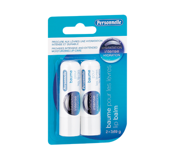 Image of product Personnelle - Lip Balm Intense Hydration, 2 x 3.69 g