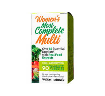Image of product Webber - Women's Most Complete Multi Capsules, 90 units
