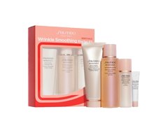 Image of product Shiseido - Benefiance Wrinkle Smoothing Starter Kit, 4 units