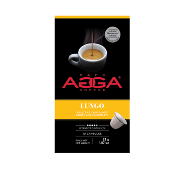 Image of product Café Agga - Lungo Coffee Capsules, 53 g