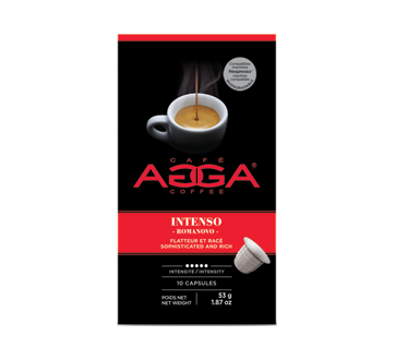 Image of product Café Agga - Intenso Romanovo Coffee Capsules, 53 g