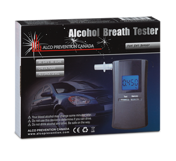 Image of product Alco Prévention Canada - APC-90 Alcohol Breath Tester, 1 unit