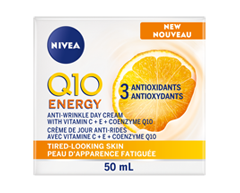 Image of product Nivea - Q10 plus C Anti-Wrinkle + Energy Day Cream, 50 ml