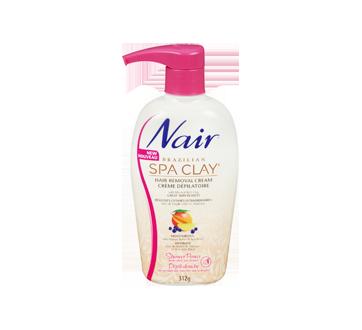 Image 3 of product Nair - Brazilian Spa Clay Hair Remover Pump Argan Oil, 312 g, Orange Blossom