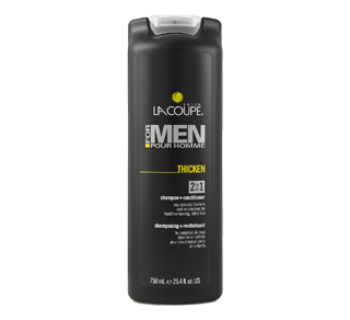 For Men - Thicken 2-in-1 Shampoo + Conditioner, 750 ml