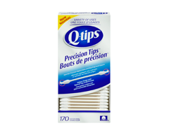 Image of product Q-Tips - Precision Tips Cotton Swabs, 170 units