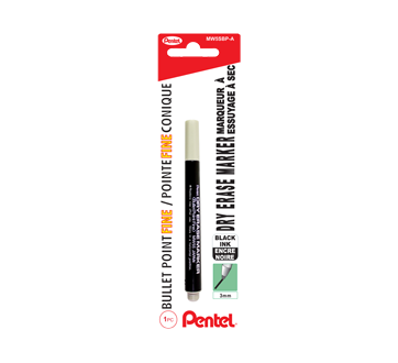 Image of product Pentel - White Board Marker 3 mm, 1 unit, Black