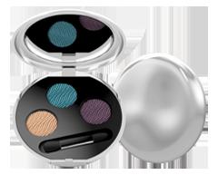 Image of product Lise Watier - Aqua Terra Eyeshadow Trio, 1 unit