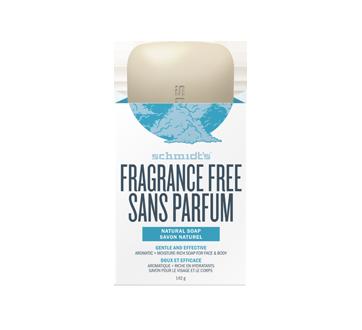 Natural Soap Gentle & Effective, 142 g, Fragrance Free