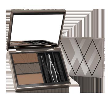 Boîtes à Sourcils Eyebrow Essential, 1 unit, Brunes
